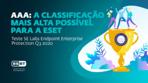 Prémio dos SE Labs' Enterprise Endpoint Protection